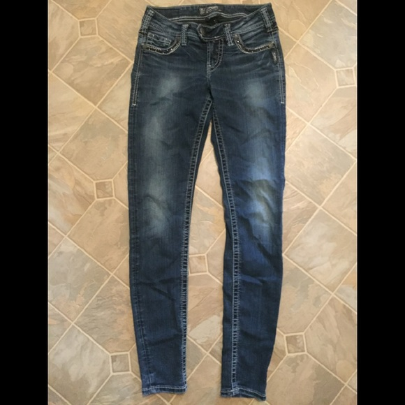 Silver Tuesday Skinny Jeans